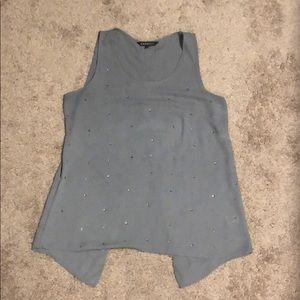 Grey Sparkly Express tank